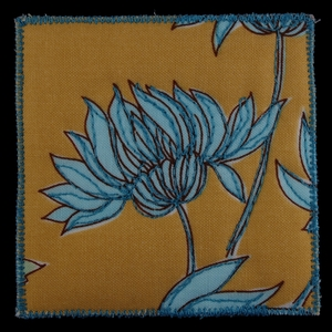 Simple Blue Flower
